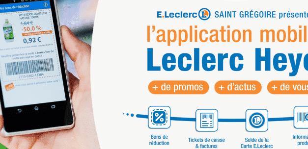 Application Heyo de leclerc – Bons plans et réduction directement en magasin
