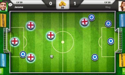 Soccer Stars – Le jeu de foot multijoueur qui vous rappelle le Subbuteo