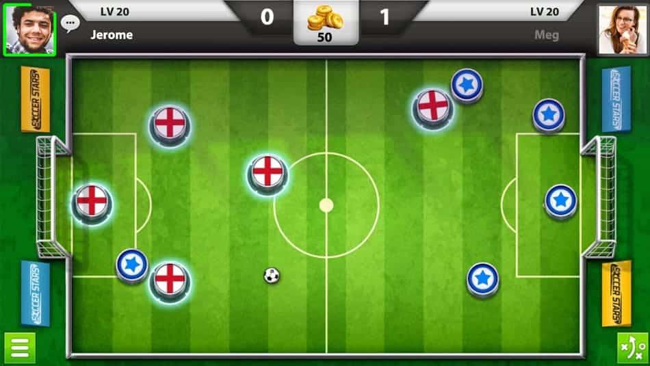 Soccer Stars - Le jeu de foot multijoueur qui vous rappelle le Subbuteo