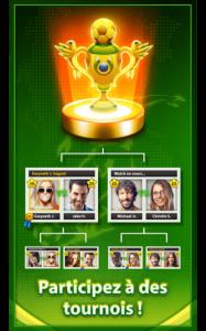 Tournois de foot en ligne sur Soccer Star