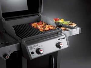 Combo barbecue gaz et plancha pour modèle Spirit de Weber