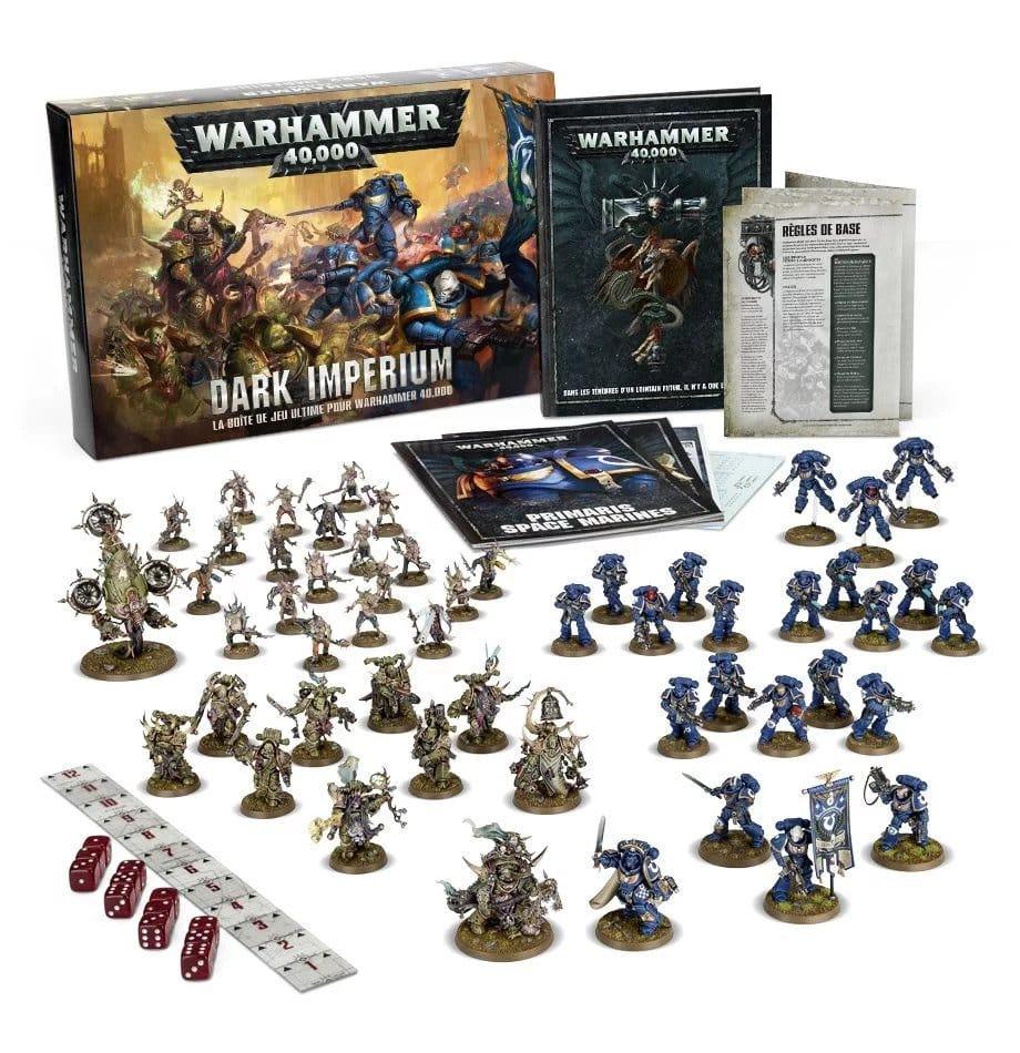 Dark Imperium Warhammer 40k - Présentation de la boîte de jeu de Games