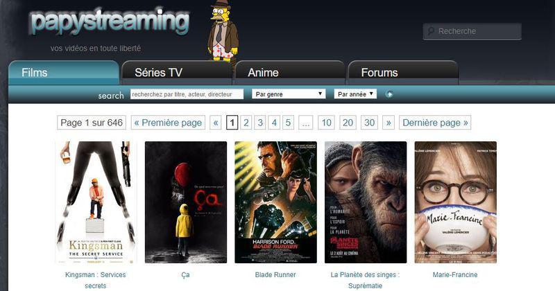 PapyStreaming pour regarder des films et séries en streaming, une bonne idée ?