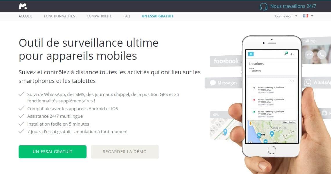 Avis Mspy : Contrôle parental pour surveiller tablettes et smartphones de vos enfants