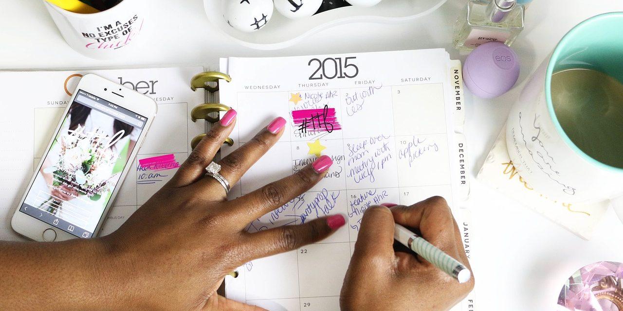 Comment bien planifier votre semaine à l'aide d'un bon planner ?