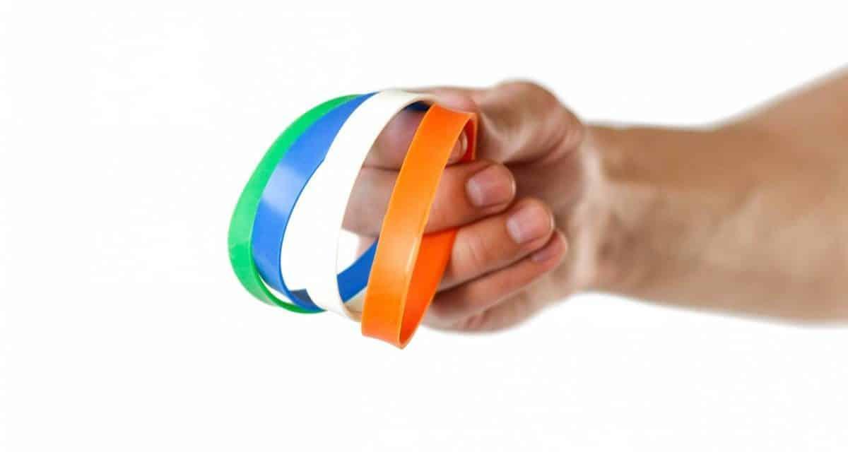 Le bracelet en silicone, un outil de communication incontournable