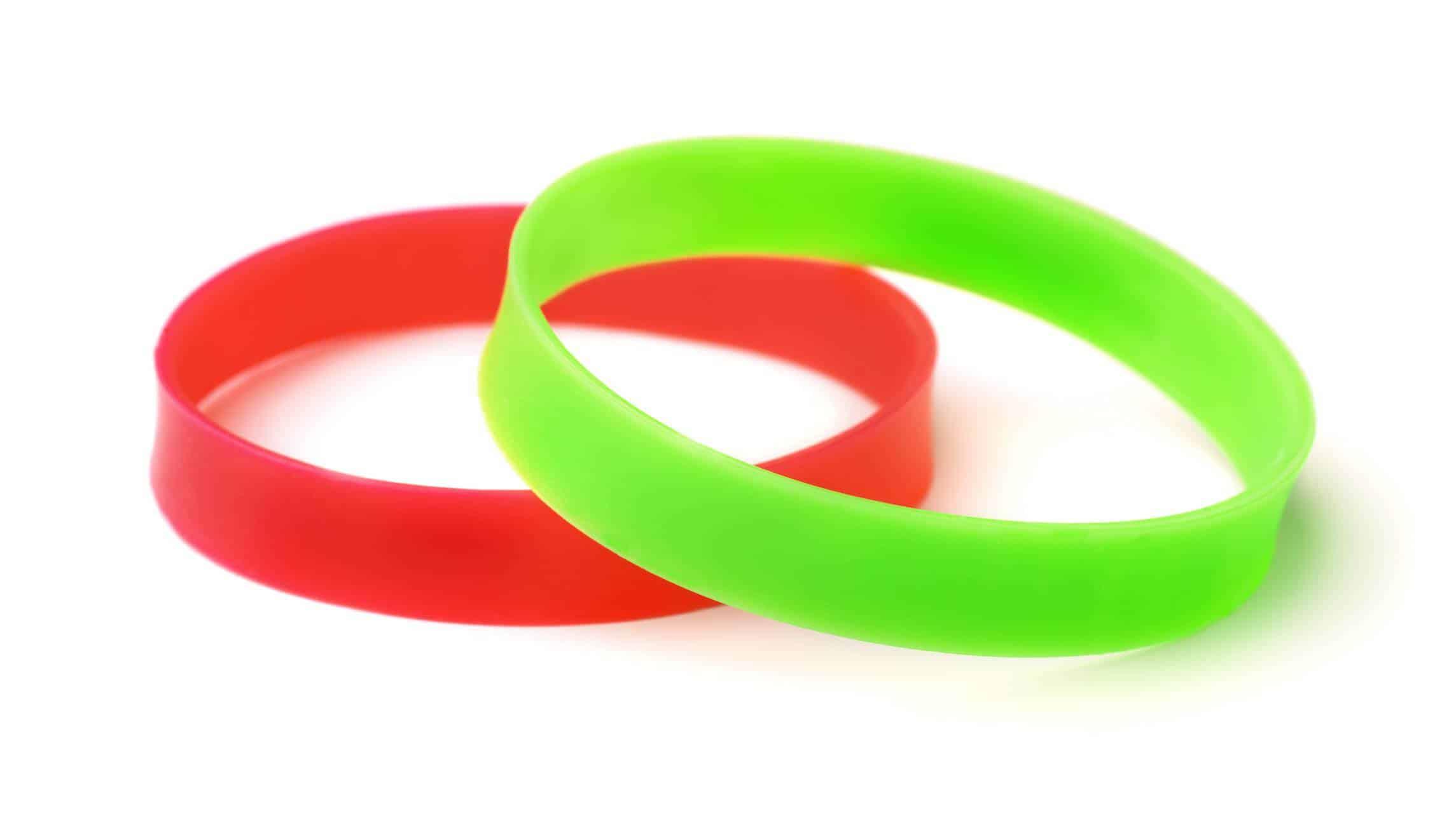 bracelet en silicone