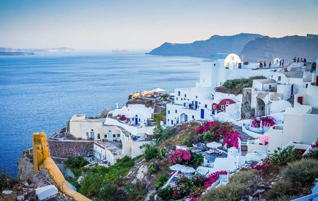 ile de Santorin en Grêce