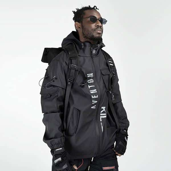 Veste Techwear Jaketto de chez Tenshi