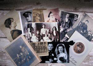 Généalogie, archive, vielle photos