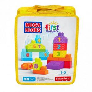 Mega Bloc 123 en plastique