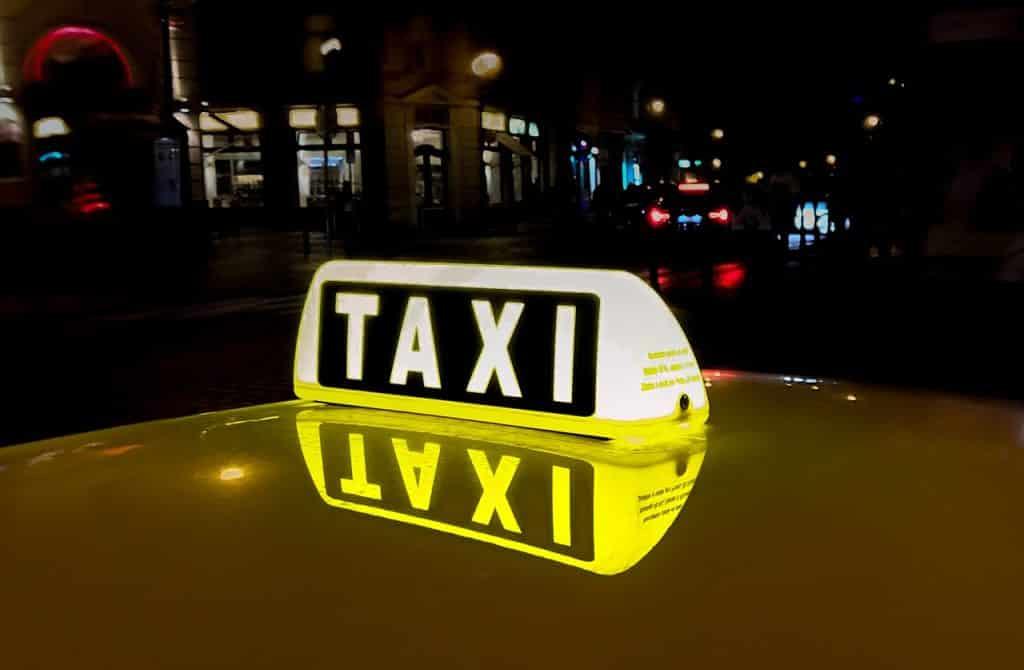 Taxi Enseigne de nuit