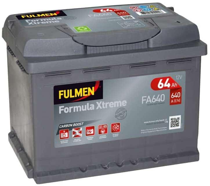 Batterie de voiture Fulmen