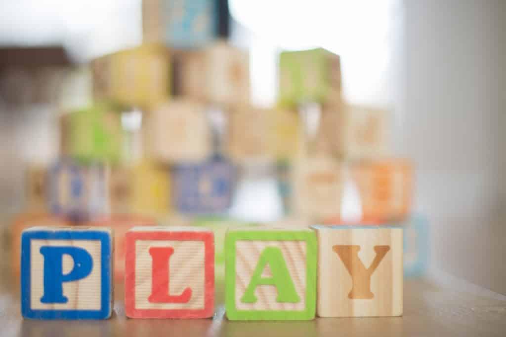 Lettres alphabets cubes en bois, jouet enfant