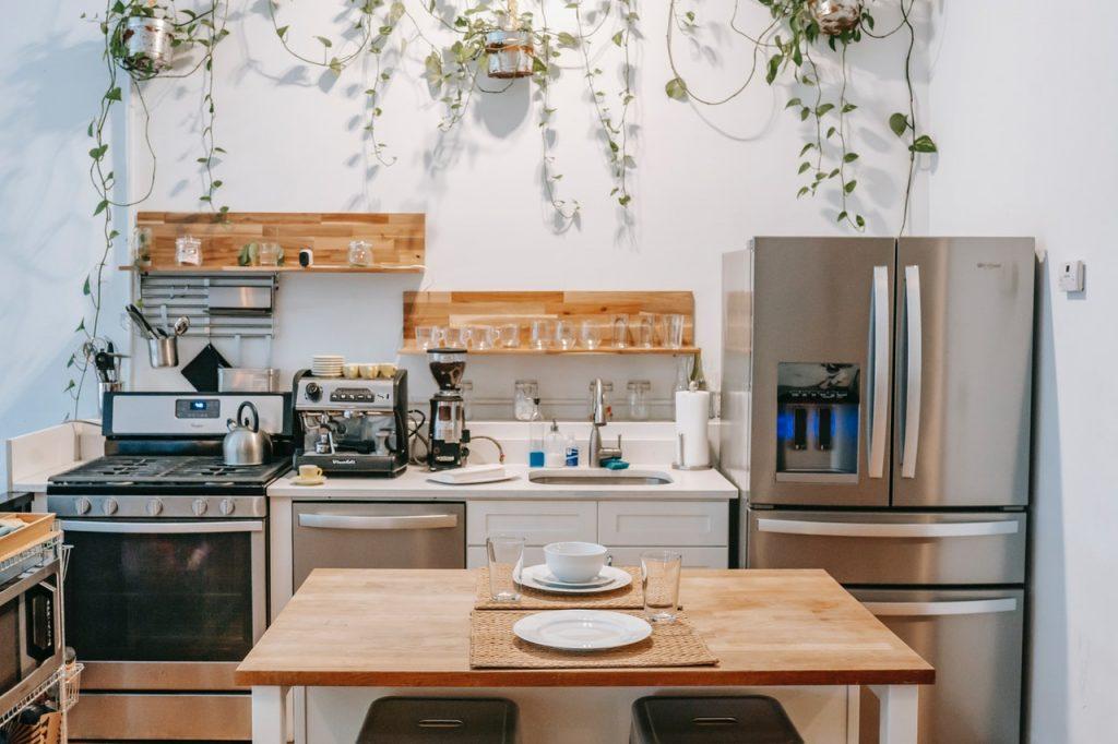 Cuisine électroménager, frigo, four, lave-vaisselle