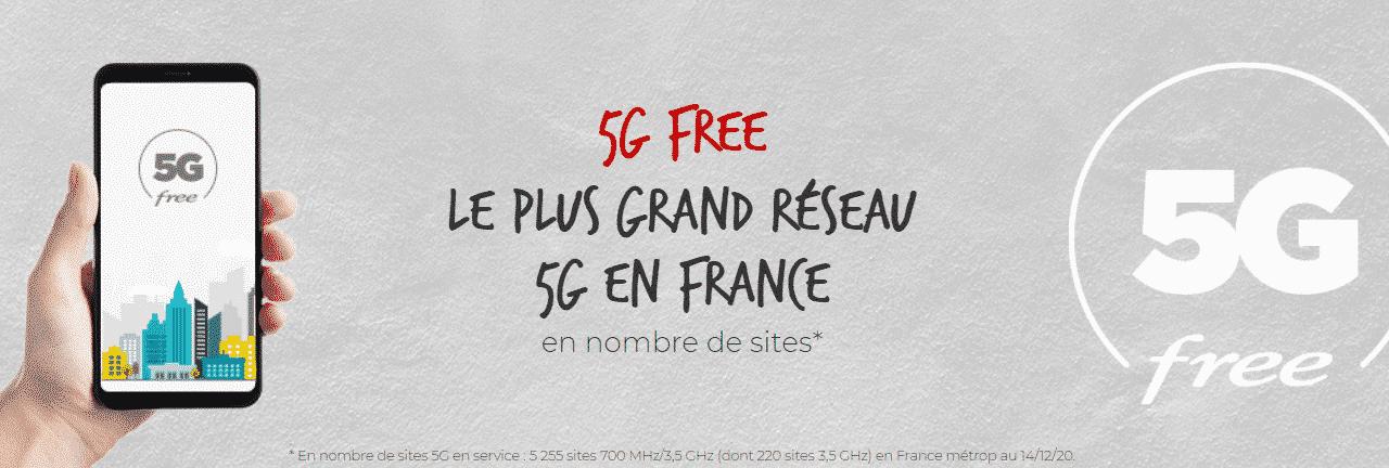 Actu 5G en France – Quels sont les Tarifs chez l'Opérateur Free ?
