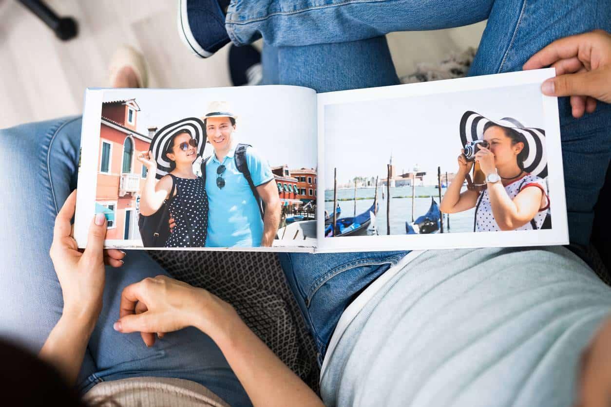 livre photo, souvenirs de voyage